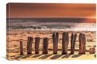 Beachwood, Canvas Print