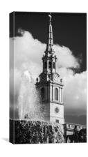 St Martin's in the Fields, London, Canvas Print