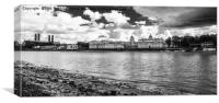 Maritime College, Greenwich, London, Canvas Print