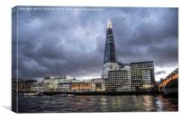 The Shard, Canvas Print