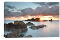 Sark Dawn, Canvas Print