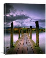 Derwentwater, Lake District, Cumbria, England, Canvas Print