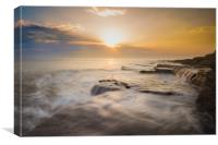 Dunraven Bay, Canvas Print