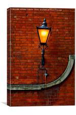 Street Light, Canvas Print