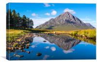 Buchaille Etive Mor, Scottish Highlands, Canvas Print