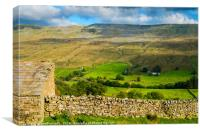 The glorious Yorkshire Dales, Canvas Print