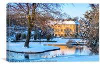 Buxton in winter, Canvas Print