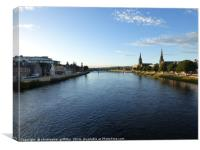 River Ness, Canvas Print