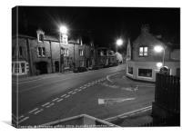 Street at Night, Canvas Print