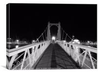 Greig Street Bridge, Canvas Print