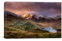 Mardale bothy, Canvas Print