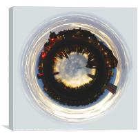 Canting Basin Little planet, Canvas Print