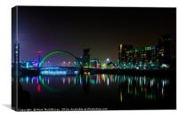 Glasgow - St Patricks Day, Canvas Print