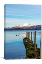 Winter on Loch Lomond, Canvas Print