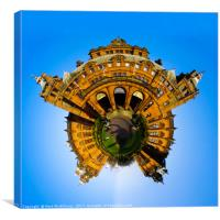 Kelvingrove Little Planet, Canvas Print