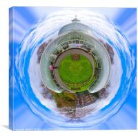 Botanic Gardens Little Planet, Canvas Print