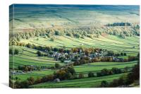Kettlewell, Canvas Print