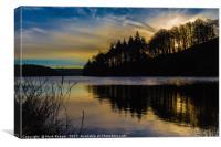 Ryburn Sunrise, Canvas Print