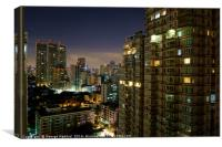 Bangkok's Buildings., Canvas Print