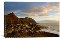 Llandudno at  sunset, Canvas Print
