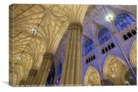 Structures Of St. Patrick 2, Canvas Print