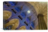 Structure of St. Patrick 3, Canvas Print