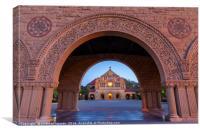 Stanford Chapel, Canvas Print
