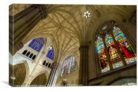 Structures Of St. Patrick 4, Canvas Print
