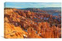 Morning in Bryce Canyon, Canvas Print