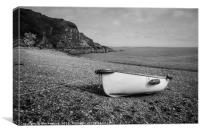 Porthallow Beach, Canvas Print
