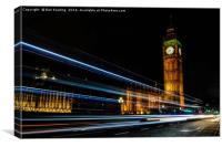 Westminster Rush Hour, Canvas Print