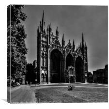 Peterborough Cathedral, Canvas Print
