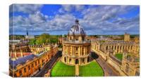 Oxford Skyline, Canvas Print