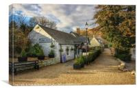 Luss Village , Canvas Print