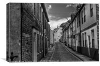 Cobble street, Canvas Print