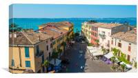 Sirmione, Lake Garda, Canvas Print