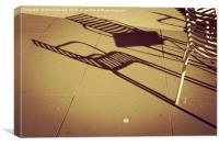 Shadow , Canvas Print