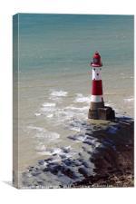 Beachy Head Lighthouse East Sussex, Canvas Print
