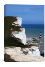 Chalk Headlands on the south coast Sussex