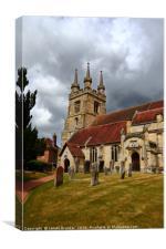 Penshurst Parish Church Weald of Kent, Canvas Print
