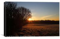 Winter Sunrise on a Frosty Morning Kent