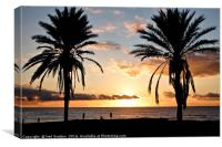 Tenerife Sunset, Canvas Print