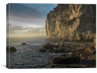 Sorento coast, Canvas Print