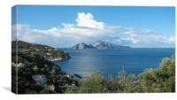 Capri, Canvas Print