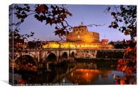 Castel Sant'Angelo, Rome, Canvas Print