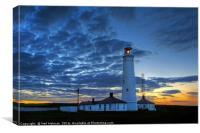 Nash Point Lighthouse, Canvas Print
