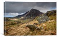 Pen Yr Ole Wen, Snowdonia, Canvas Print