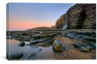 Traeth Mawr Waterfall, Canvas Print