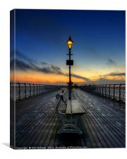 Penarth Pier , Canvas Print