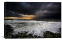 Ogmore by Sea , Canvas Print